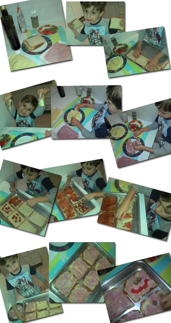 pizza montagem