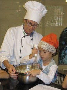 Preparando muffins