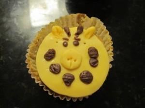 Muffin divertido