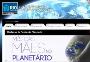 Mês das Mães no Planetário