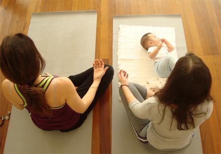 yoga para bebês