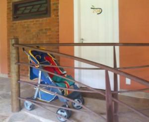 Parador Maritacas - carrinho de bebê