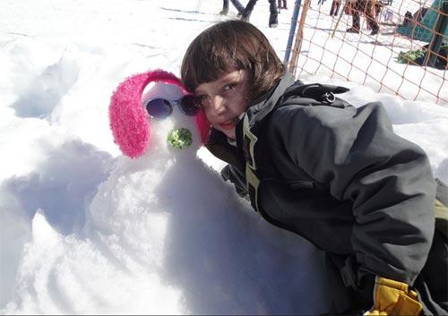 Bariloche_boneco de neve