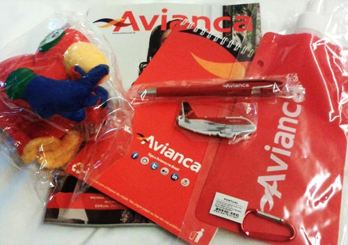 funtrip avianca - welcome kit