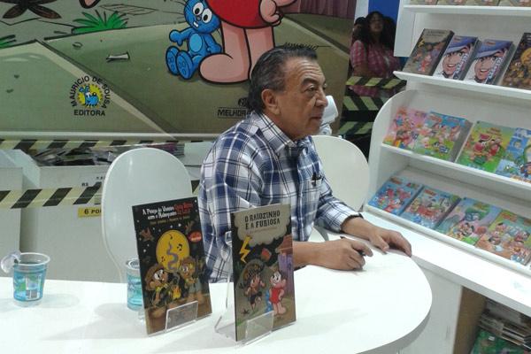 bienal do livro 2013 - Maurício de Sousa