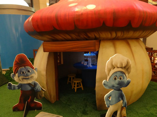Vila dos Smurfs - Norte Shopping