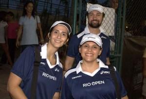 Rio Open - Preparados para a clínica de tênis