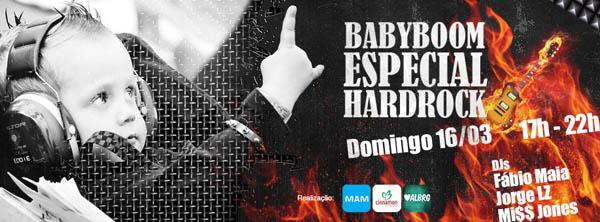 BABY BOOM - Edição Hard Rock