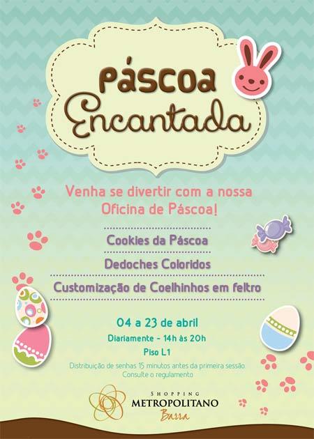 Pascoa Encantada no Shopping Metropolitano Barra
