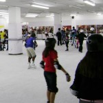 Dia das mães - patinação no gelo