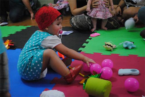 Programação para bebês na Casa das Rosas (FOTO: Débora Nazari)