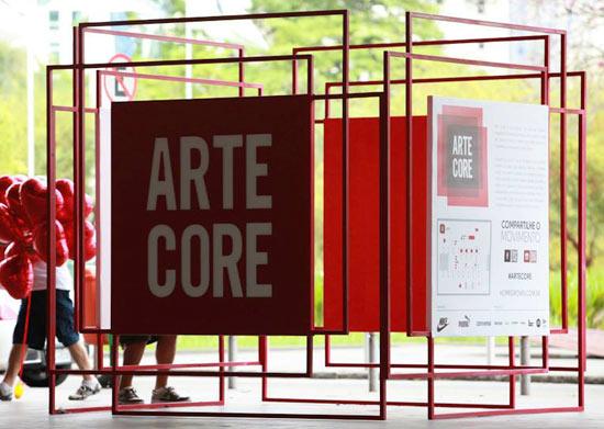 Arte Core - FOTO: Henrique Madeira