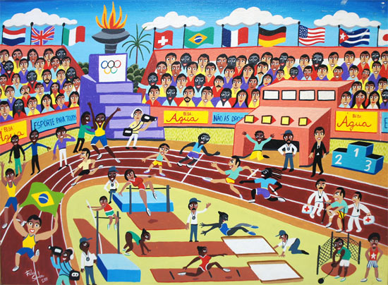 Fábio Sombra - O estádio olímpico