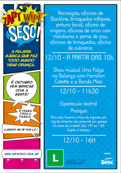 Dia Das Crianças - SESC Tijuca