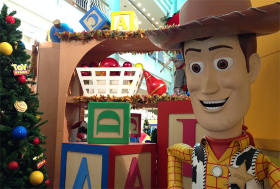 Natal West shopping -  Toy Story