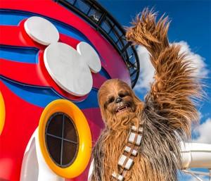 Dia Star Wars em alto mar no Disney Cruise