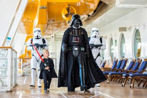 Dia Star Wars em alto mar no Disney Cruise