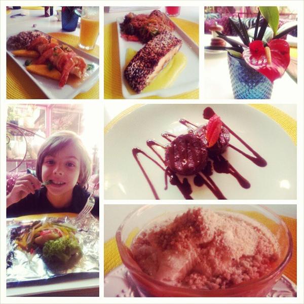 Costa Verde Tabatinga Hotel - cardápio gourmet