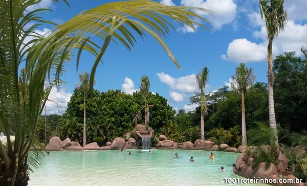 Mabu Thermas Grand Resort - praia termal