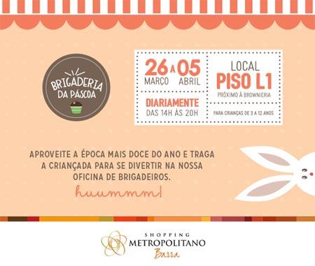 Páscoa shopping Metropolitano