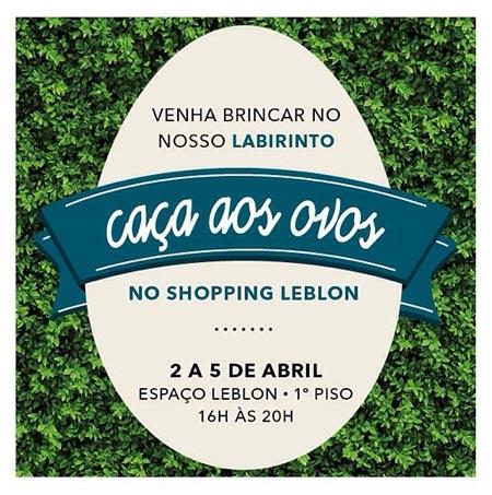 Páscoa Shopping Leblon2015