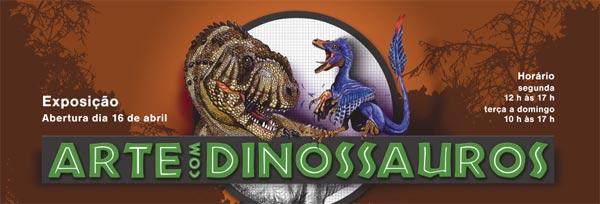 Arte com Dinossauros