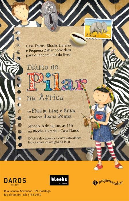 Diários De Pilar na África