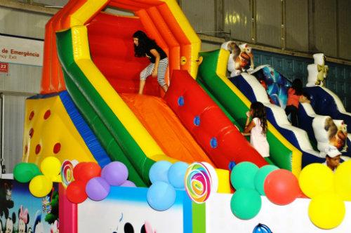 recreação infantil e parque de aventuras