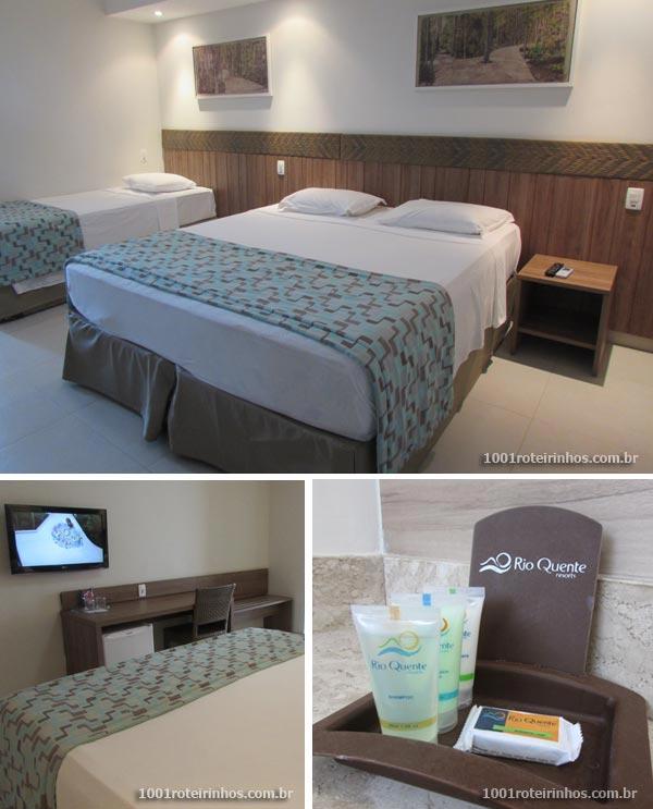 Rio Quente Resorts - quarto
