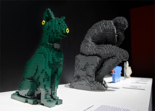 The Art of the Brick - O Pensador