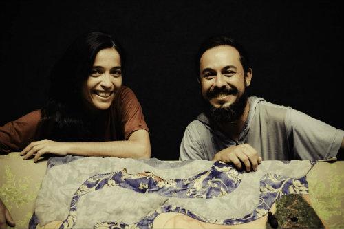 Sábado Te Conto! - Rosana Reátegui e Warley Goulart. FOTO: Renato Mangolin
