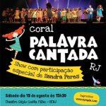 CORAL PALAVRA CANTADA RJ