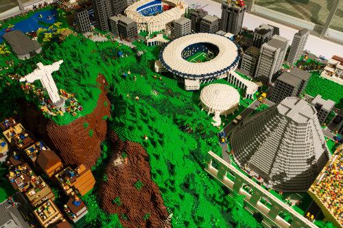 Maquete Rio - Lego