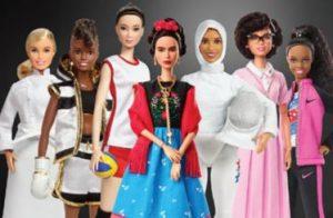 Linha Barbie Mulheres Inspiradoras