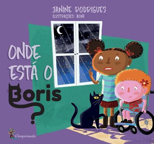 Livro Onde está o Boris?