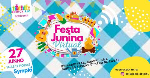Brinca Rio - Fesata Junina Virtual