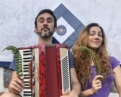 Clara Santhana e Leandro Castilho --- FOTO: Divulgação